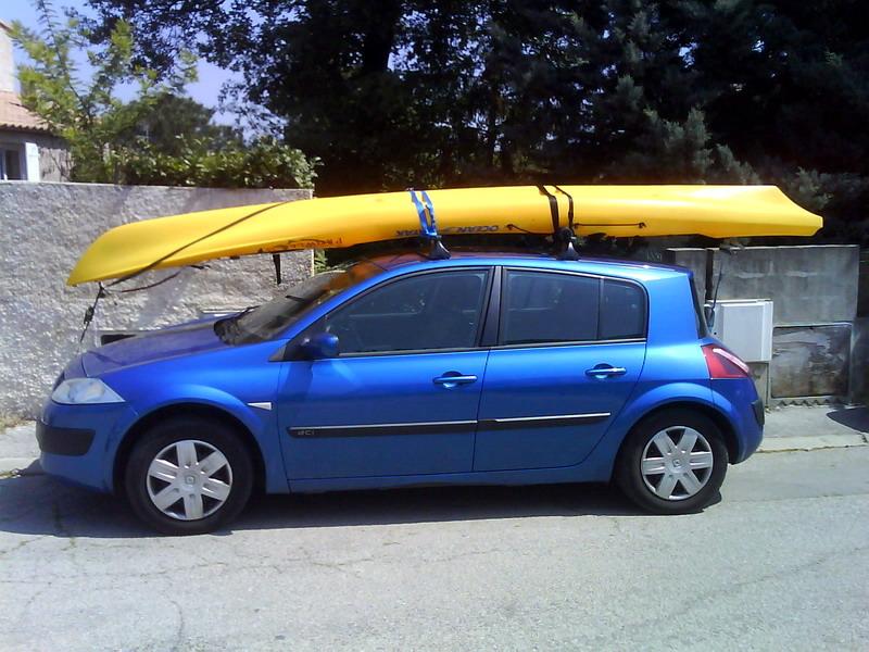 transport sur barres de toit kayakistes de mer org. Black Bedroom Furniture Sets. Home Design Ideas