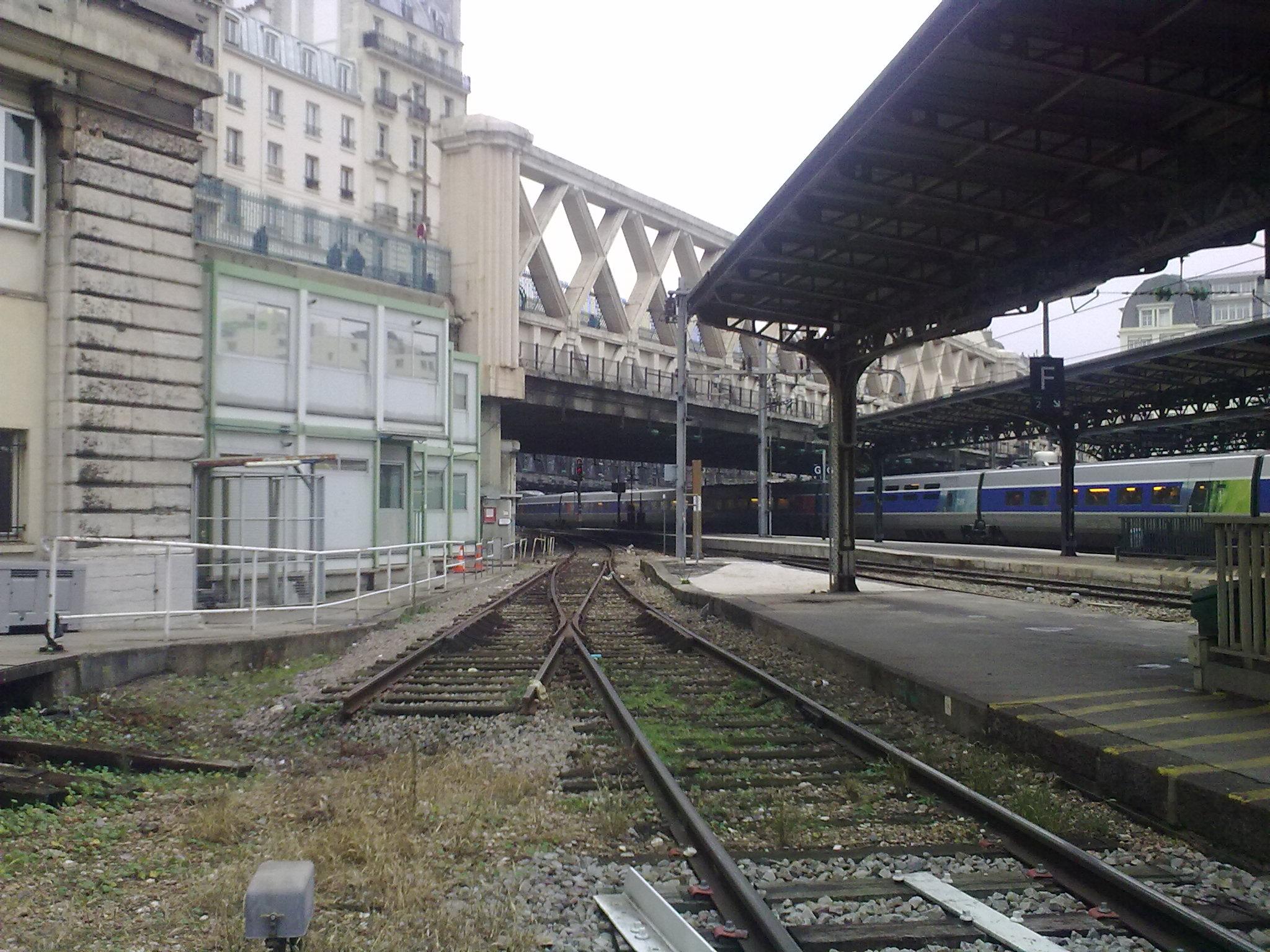 Anciennes Voies De La Gare De L 39 Est Infra Voie