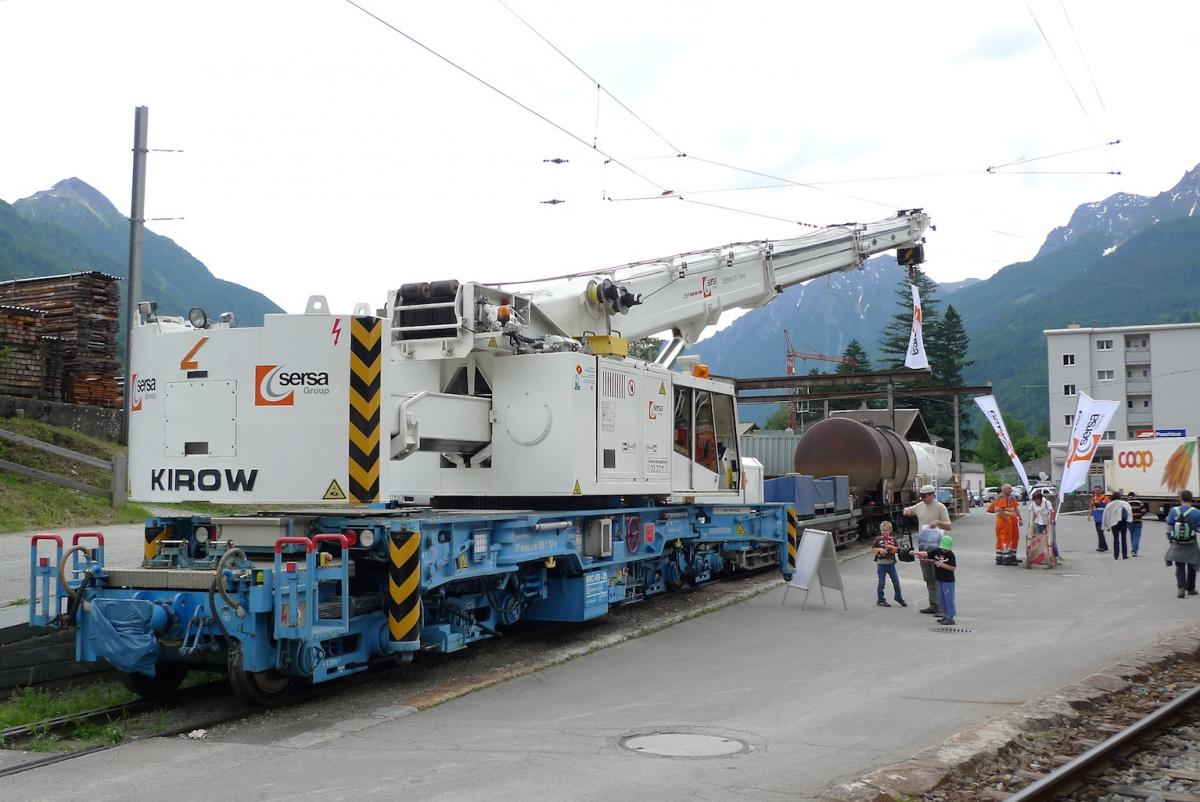 Grue kirow sncf