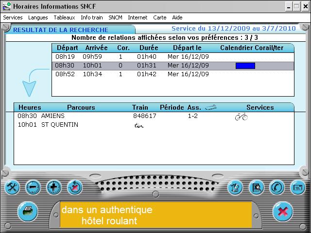 Mise A Jour Des Horaires Sncf Informatique Le Web Des Cheminots
