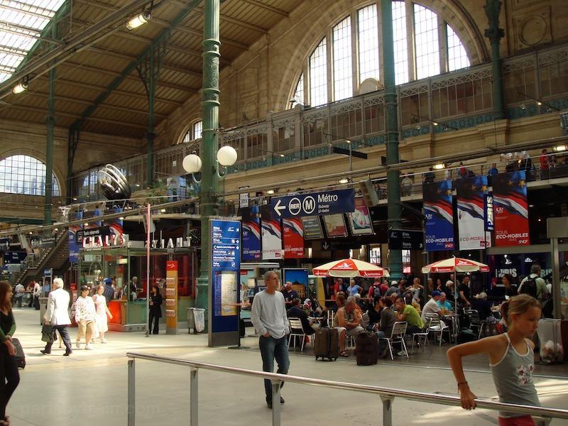 La gare du nord de paris page 3 infra voie batiment - Bureau de change paris gare de l est ...