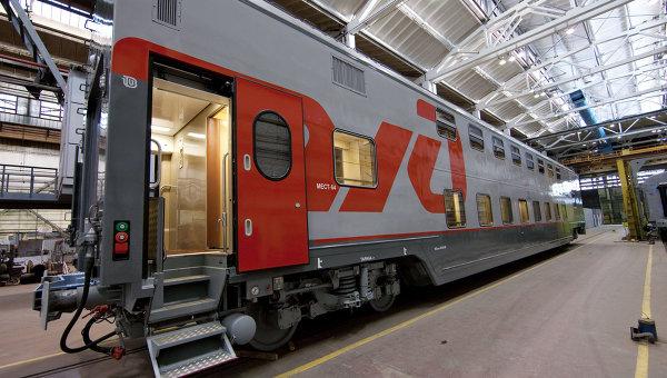 trains de voyageurs en russie