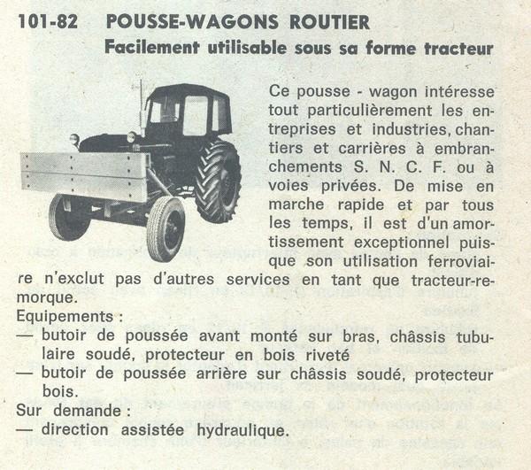 L histoire du tracteur pousse wagon des histoires de trains le web des - Histoire du tracteur ...